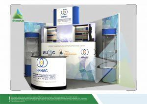 3Д проект для НИИ Источников света