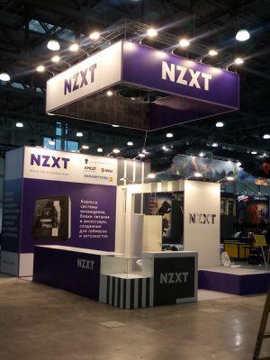 Эксклюзивный выставочный стенд для компании «NZXT»