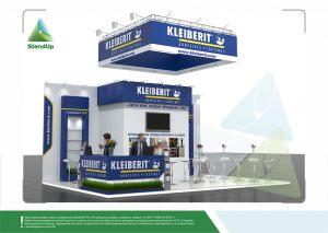3D проект выставочного стенда для компании «Клейберит»