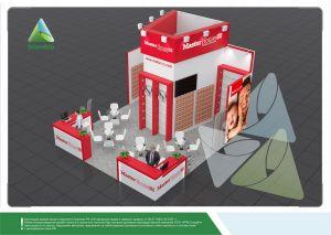 """3D проект выставочного стенда для """"Мастер Хаус"""""""