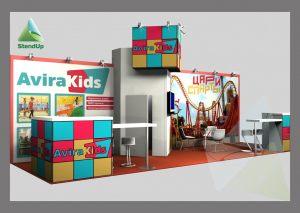 3Д проект для «Avira Kids»