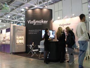 Мобильный выставочный стенд для Vlassmaker