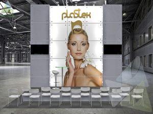 3D проект выставочного стенда для Пластэк
