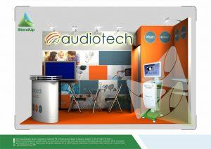 3Д проект для «Аудиотек». Выставка «Слух 2017»