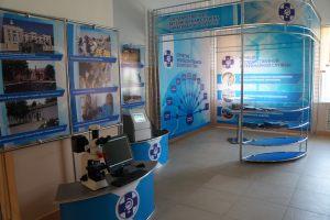 Выставочный стенд на основе конструктора Джокер для Саратовской ветеринарной службы