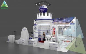 3Д проект выставочного стенда для Юнитойс-МСК. Выставка «Мир детства 2017»