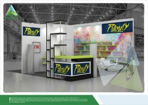 3Д проект для «Приор Групп». Выставка «HouseHold Expo-2017»