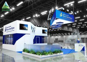 3D проект выставочного стенда для Волга АвтоПром