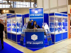 """Выставочный стенд на основе конструктора Октанорм для """"HТМ-Защита"""""""