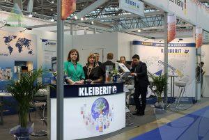 Мобильный выставочный стенд для Kleiberit