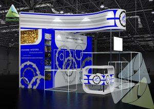 3D проект выставочного стенда для ФРТИ